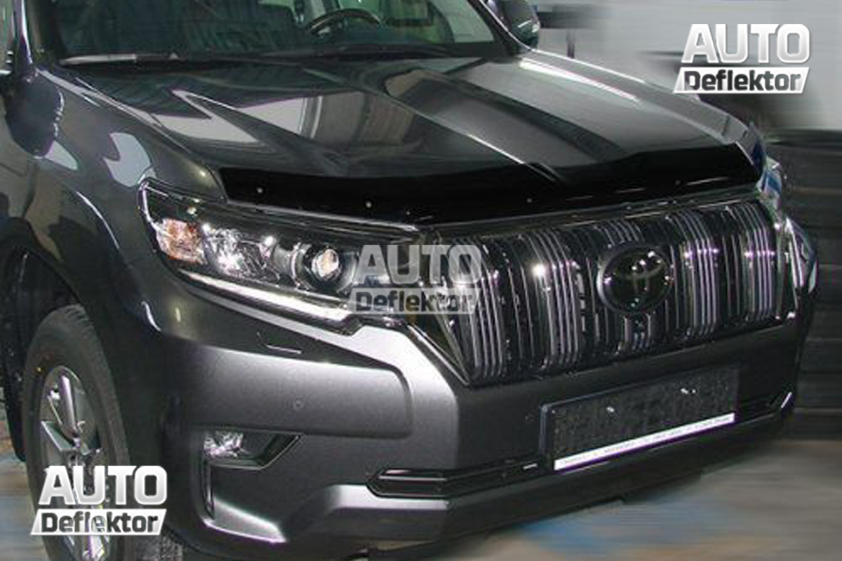 Дефлектор капота TOYOTA Land Cruiser Prado 150 (2018-) (темный) SIM NOVLINE