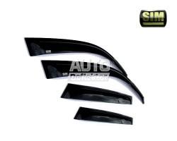 Дефлекторы боковых окон SIM Chevrolet Lacetti Hb 2004- 4d